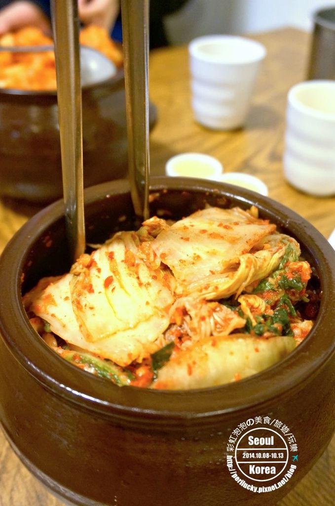 15.土俗村蔘雞湯-泡菜