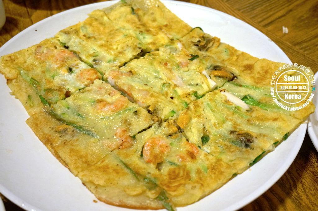 23.土俗村蔘雞湯-海鮮煎餅