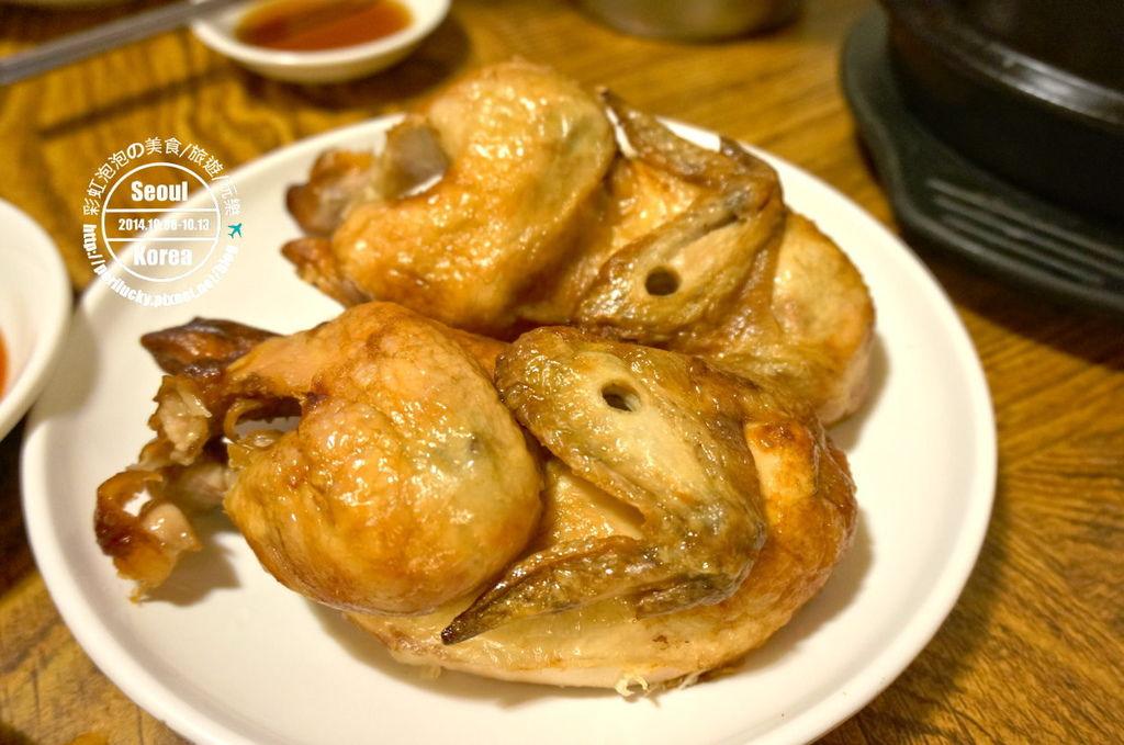 27.土俗村蔘雞湯-烤雞