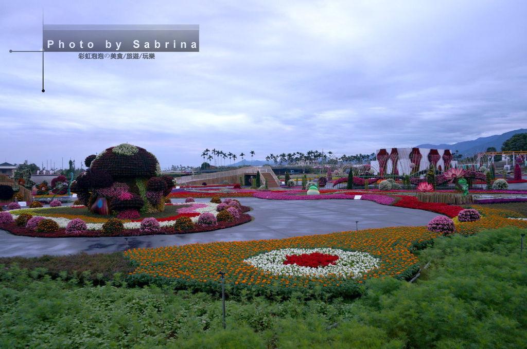 9.2014新社花海-台中國際花毯節