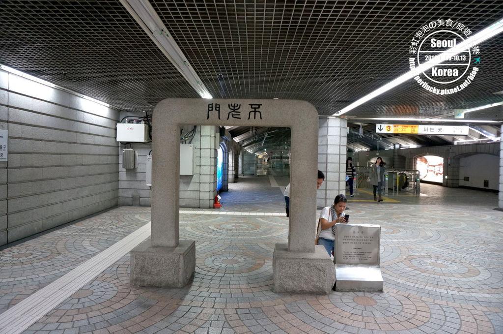29.景福宮站5號出口方向-不老門