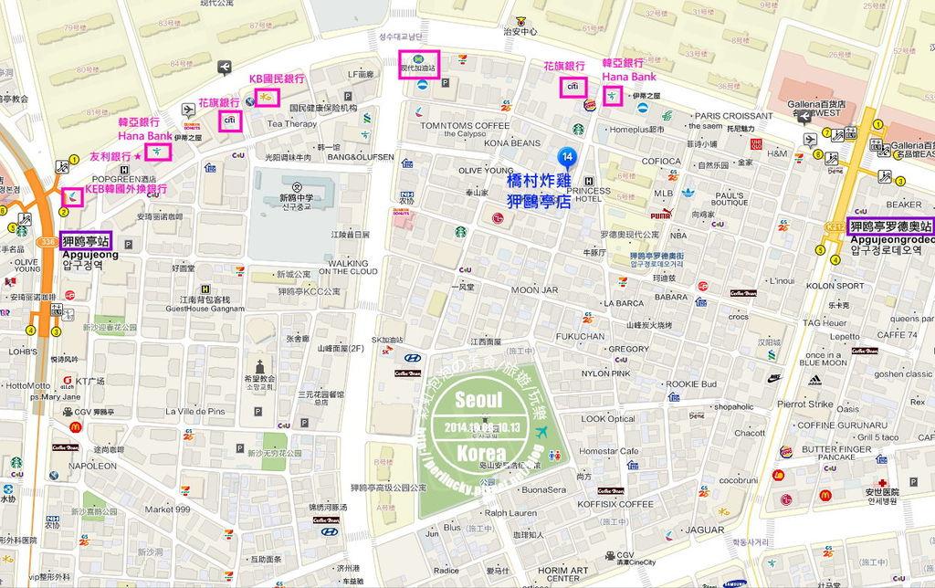 橋村炸雞狎歐亭店地圖