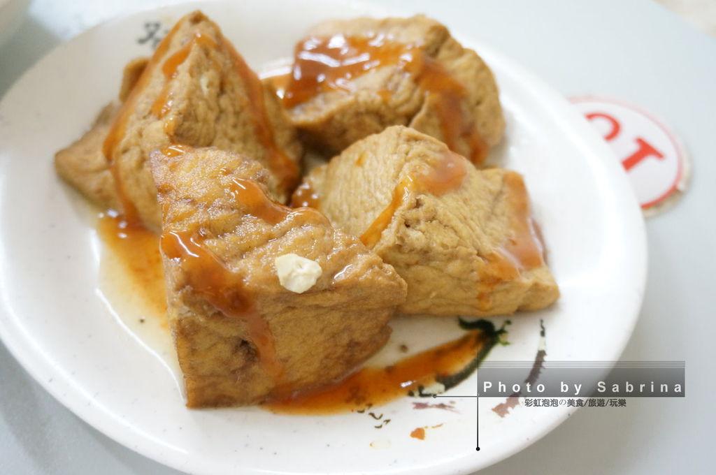 6.劉里長雞肉飯-油豆腐