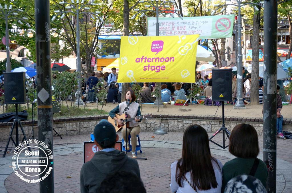 90.弘益公園自由市場-afternoon stage藝人表演