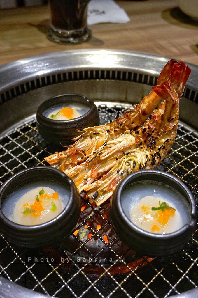 42.老井極上燒肉-老井精選草蝦、干貝