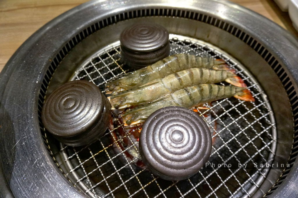 41.老井極上燒肉-老井精選草蝦、干貝