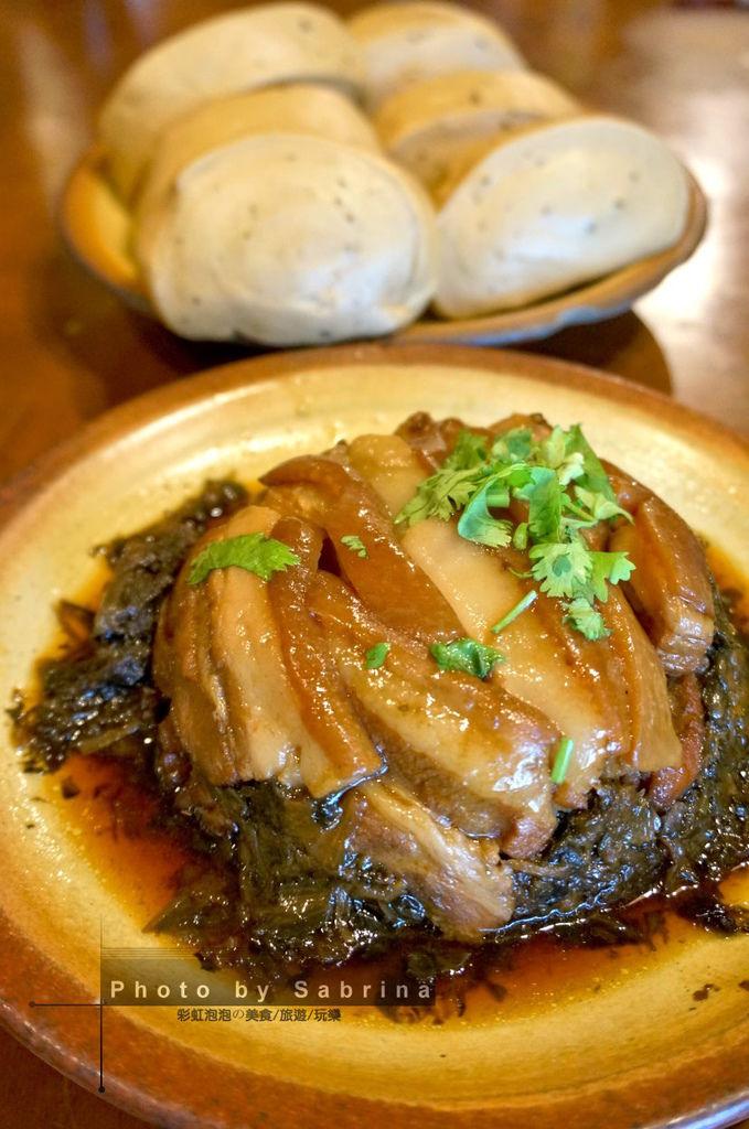 16.棗莊-梅干扣肉+紅棗饅頭