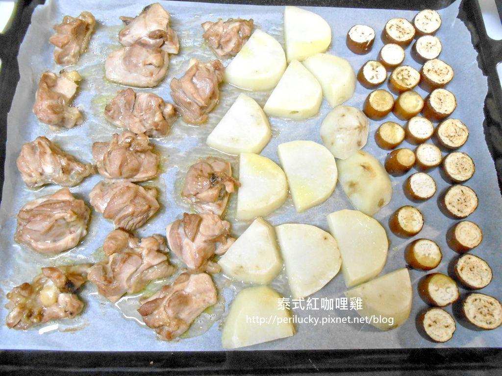 5.泰式紅咖哩雞製作流程