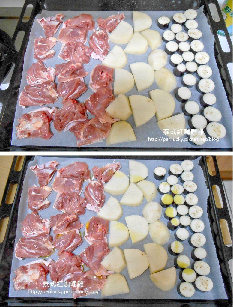 3.泰式紅咖哩雞製作流程