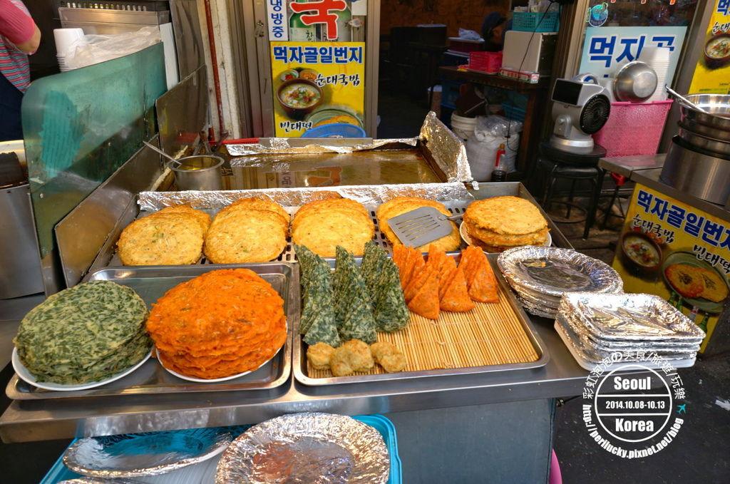 18.廣藏市場-紅蘿蔔煎餅、菠菜煎餅