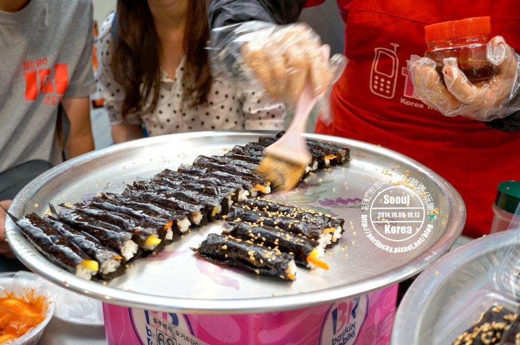 22.廣藏市場-紫菜卷、炒年糕