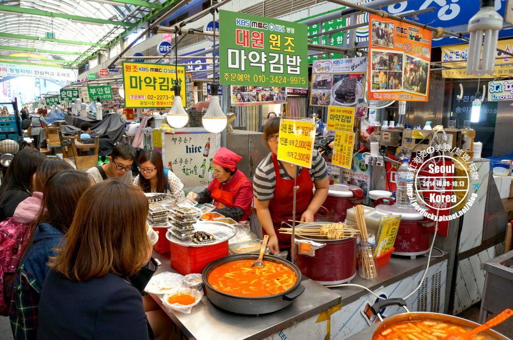 21.廣藏市場-紫菜卷、炒年糕