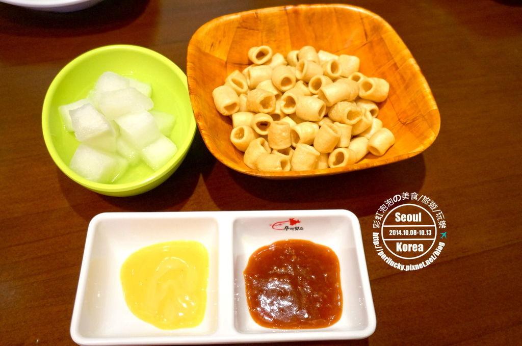 46.BBQ Chicken-沾醬、醃蘿蔔