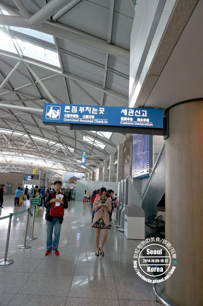 55.仁川機場-電子自動退稅機