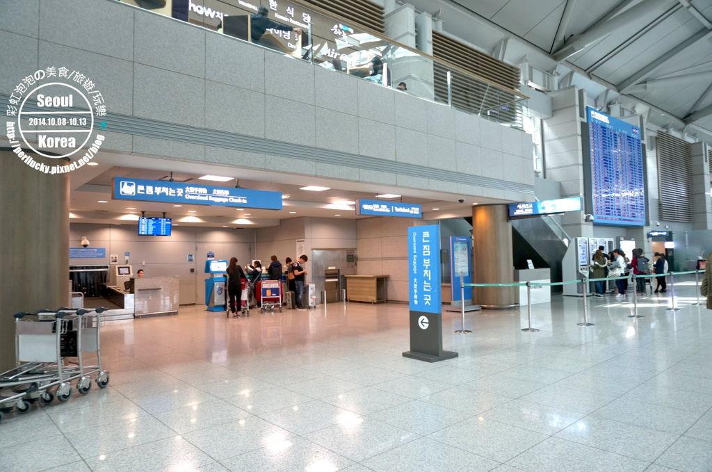 53.仁川機場-人工退稅櫃臺