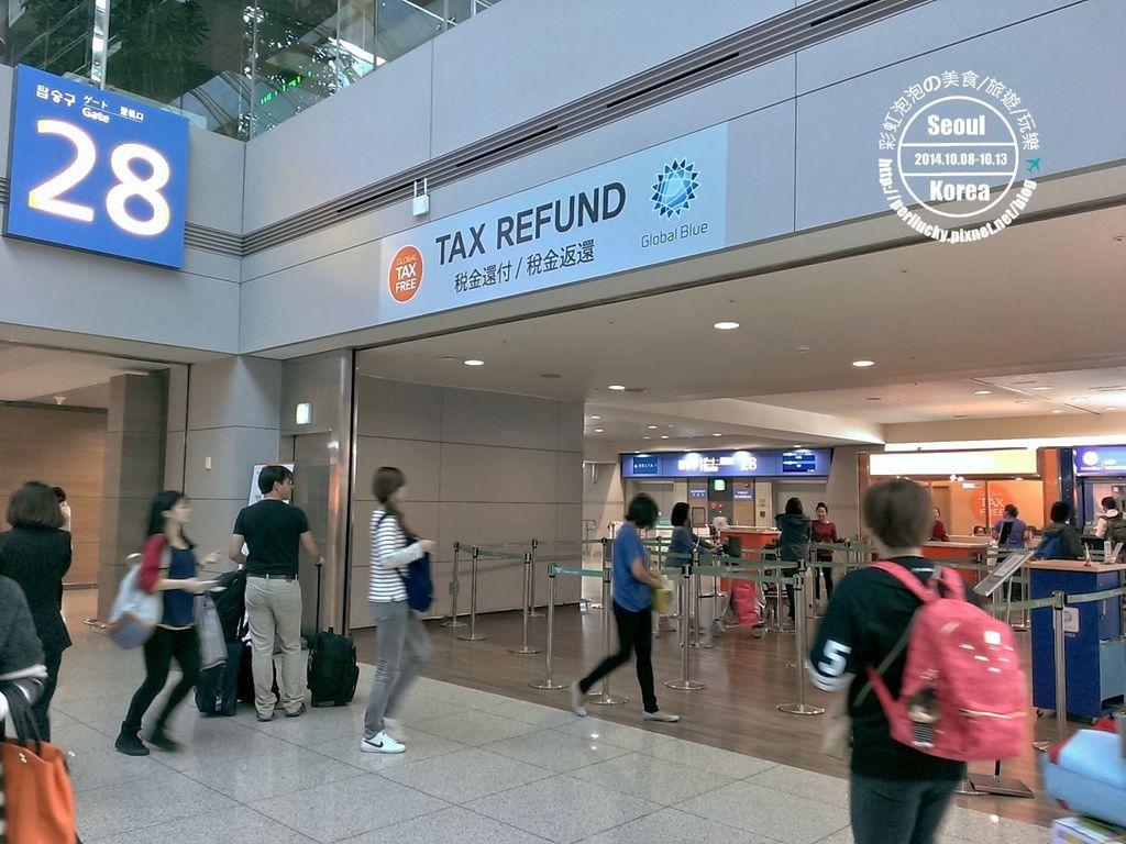 74.仁川機場-退稅返還櫃台