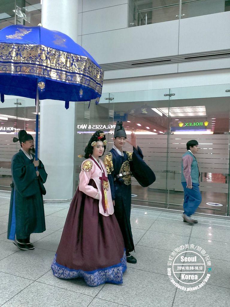 78.仁川機場-皇室巡禮