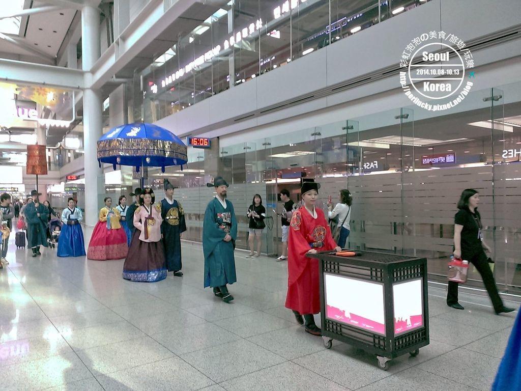 77.仁川機場-皇室巡禮