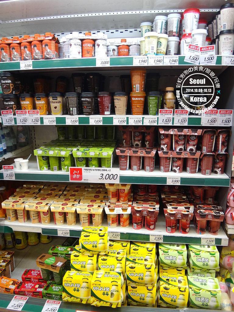 8.樂天超市-飲料區