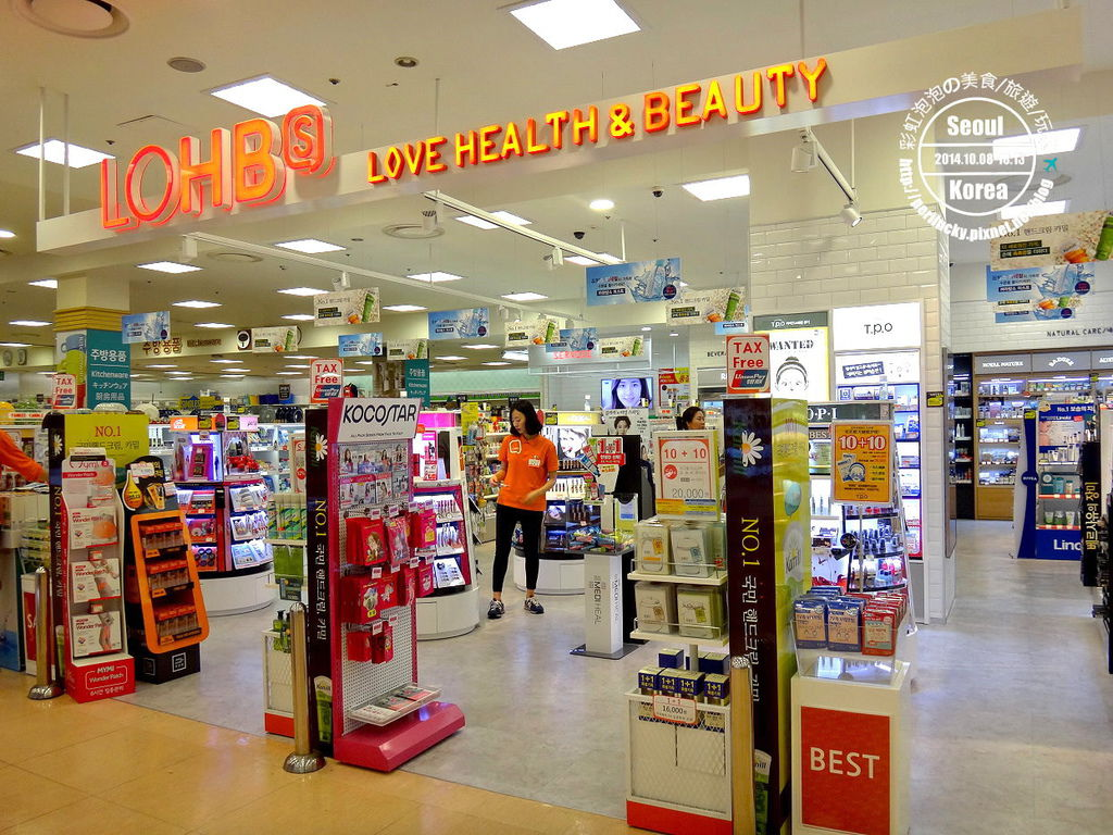 2.樂天超市-美妝區