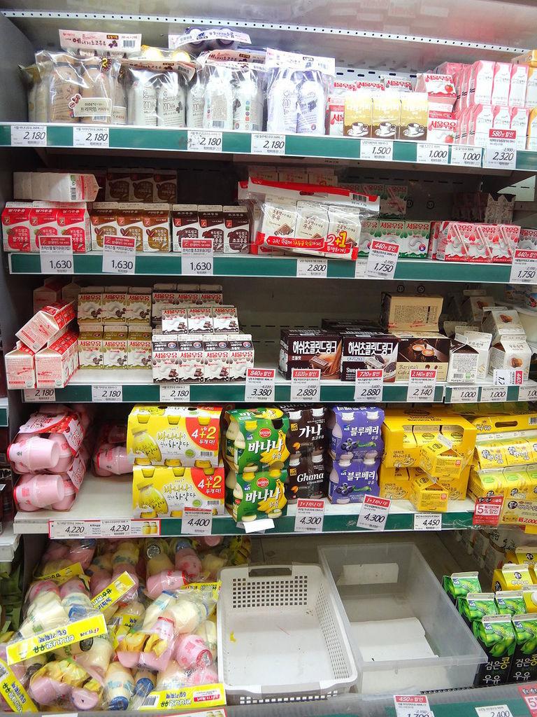 9.樂天超市-香蕉牛奶