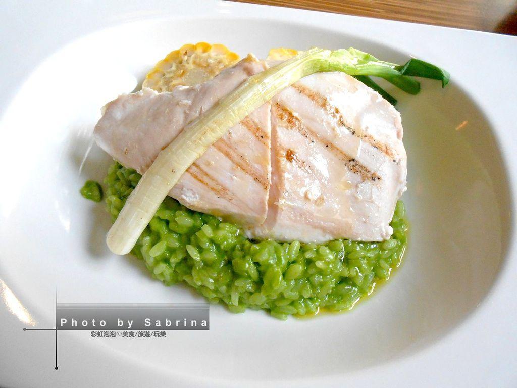 1.鹽與胡椒餐館-低溫烹調雞胸與青蔥燉飯