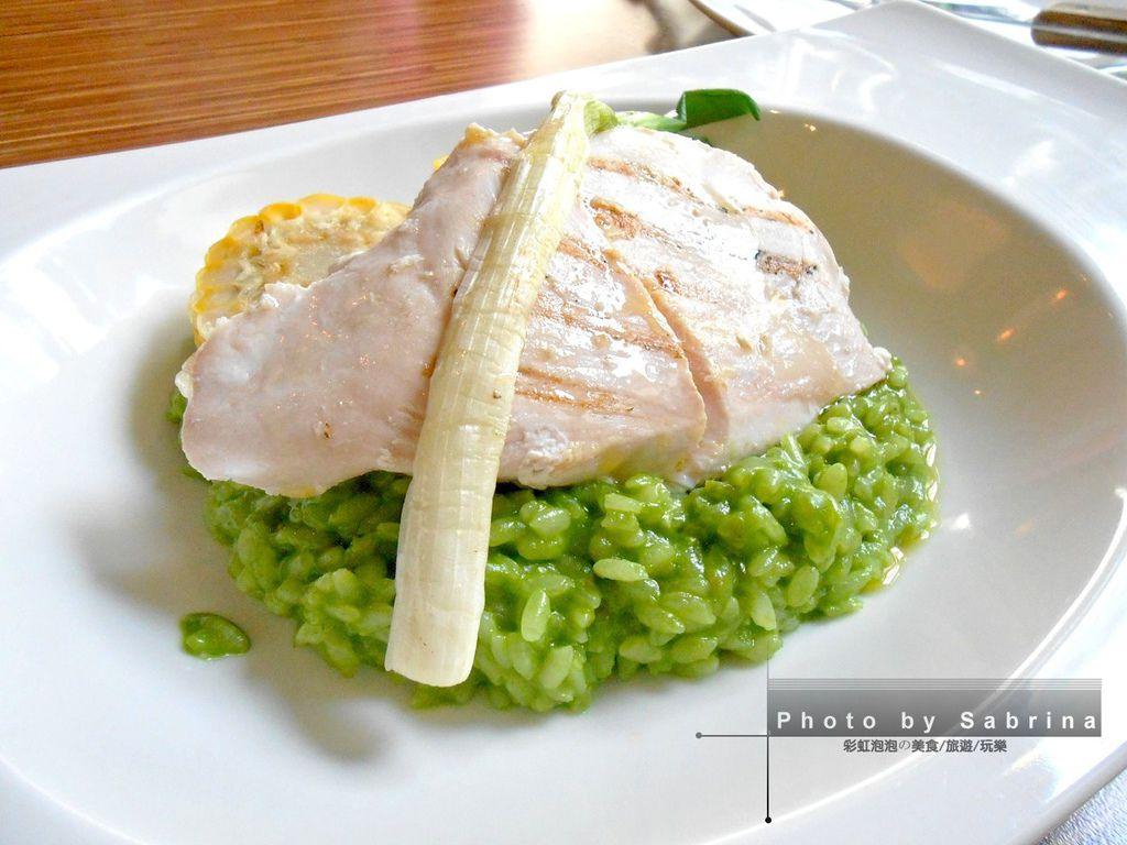 9.鹽與胡椒餐館-低溫烹調雞胸與青蔥燉飯