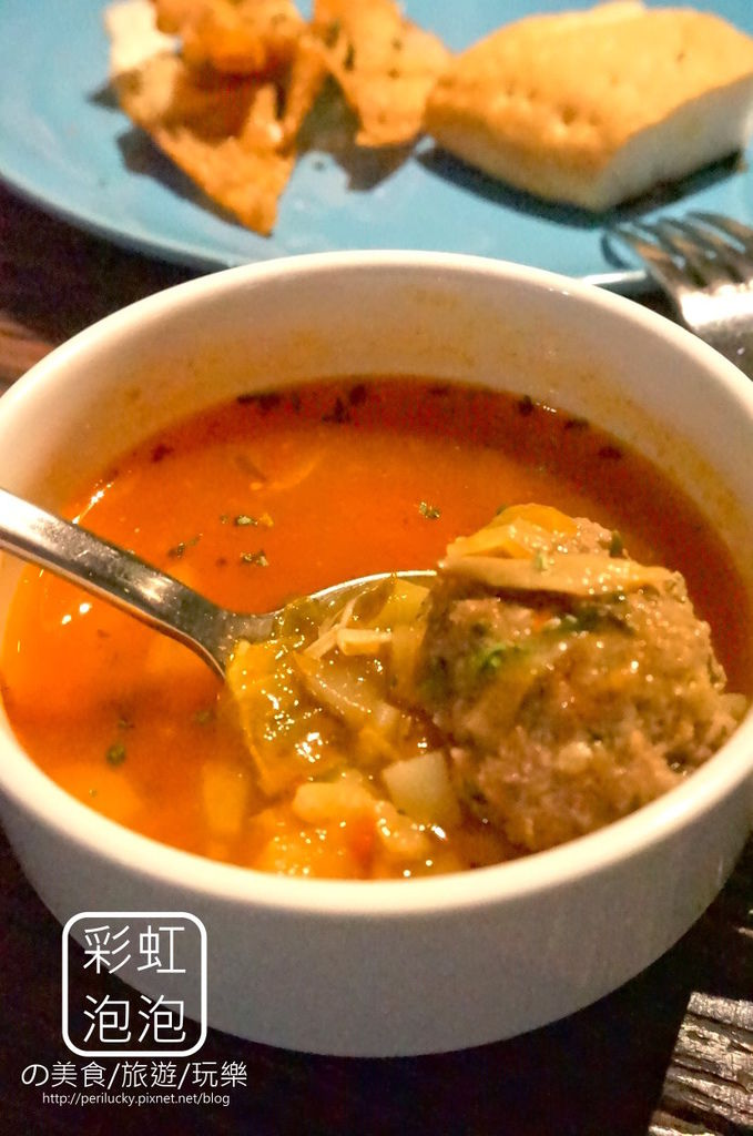 17.吃東西-前菜-蕃茄牛肉丸蔬菜湯