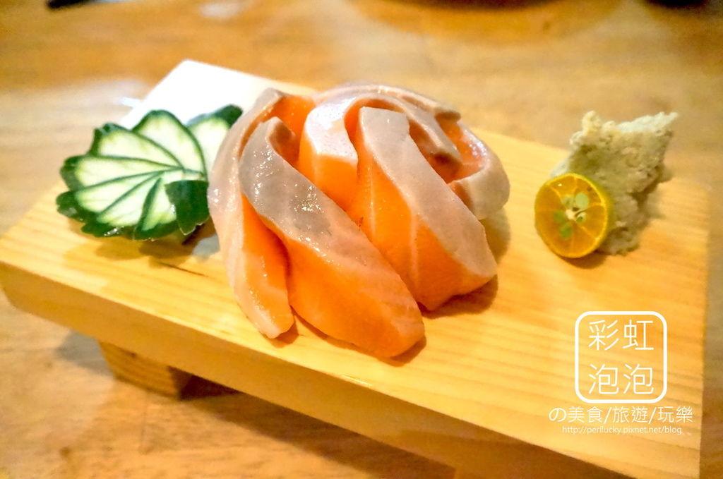 11.有樂町-鮭魚刺身