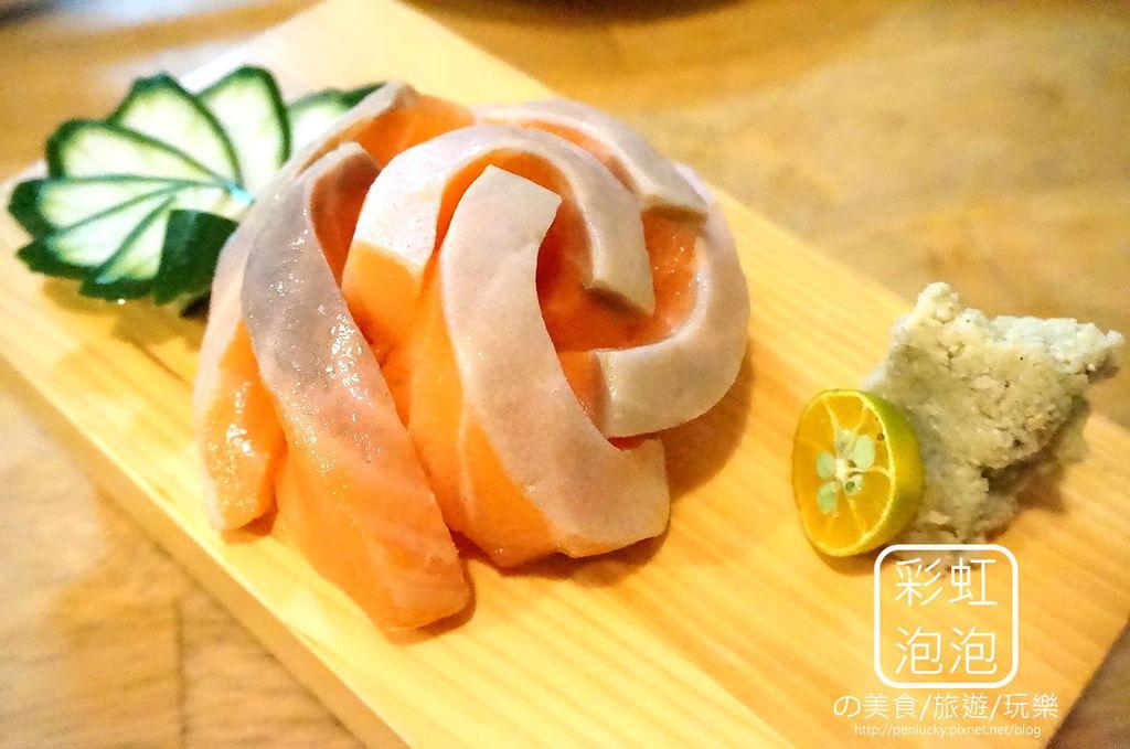 1.有樂町-鮭魚刺身
