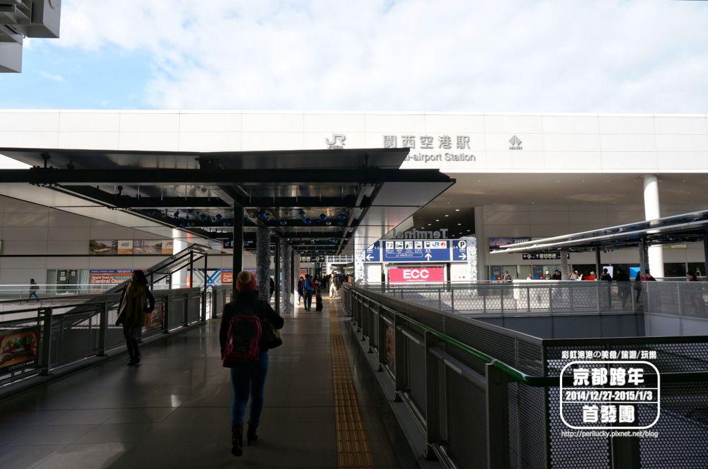 11.JR與南海電鐵關西空港站