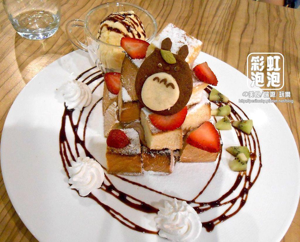 1.覺樂咖啡-冰淇淋丹麥金磚