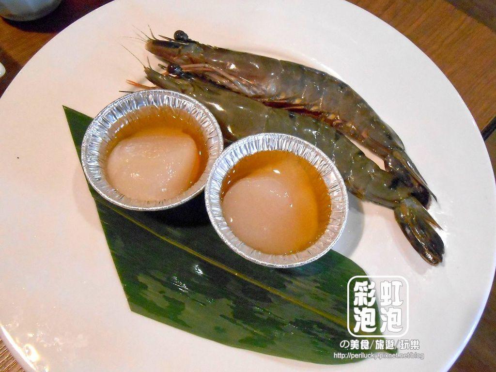 21.秋樂亭-元氣熊蝦、北海道干貝