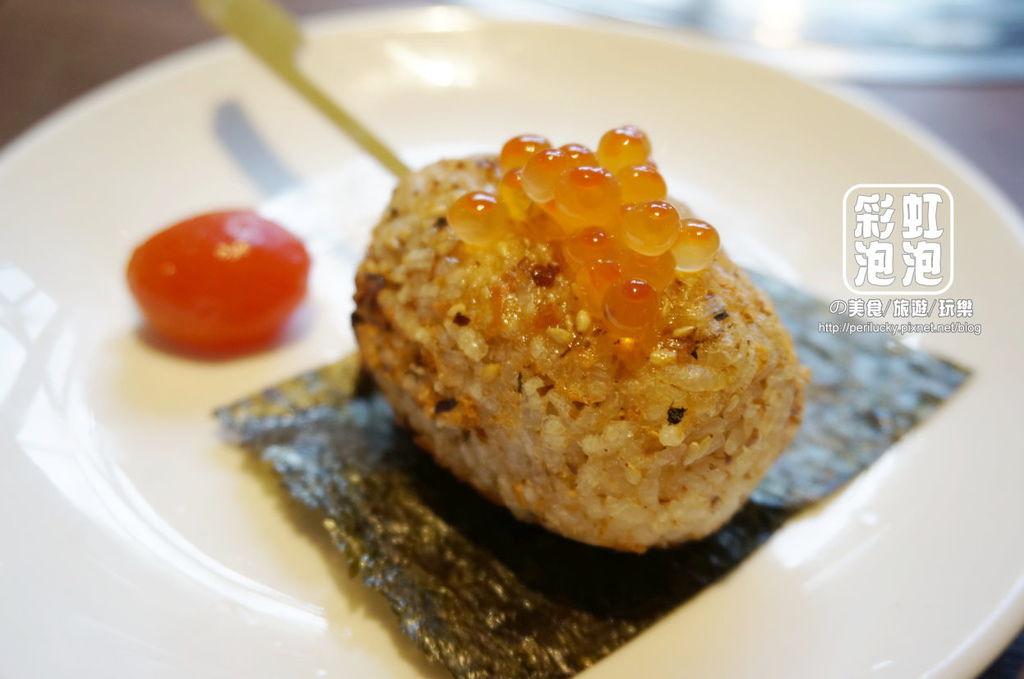 35.燒肉風間-鹽漬鮭卵飯糰