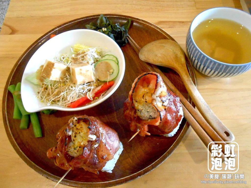 1.默默 murmur-培根恰恰日和飯糰.jpg