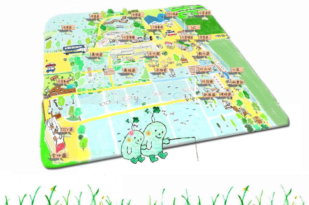 勝洋水草休閒農場地圖
