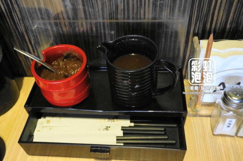 12.熊炭日式炭火燒肉-醬料.JPG