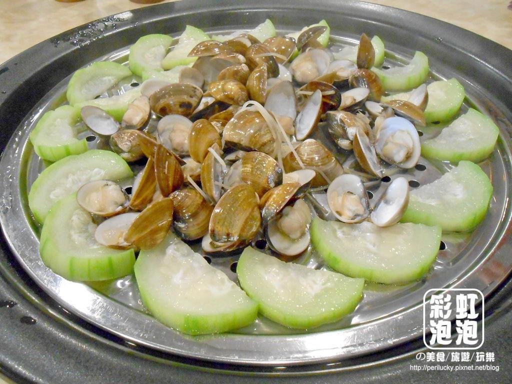 21鼎陶蒸 蒸汽海鮮鍋物-絲瓜蛤蜊.jpg