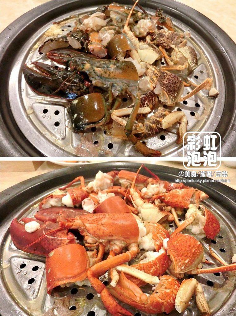 33.鼎陶蒸 蒸汽海鮮鍋物-波士頓龍蝦+黃金龍蝦.jpg