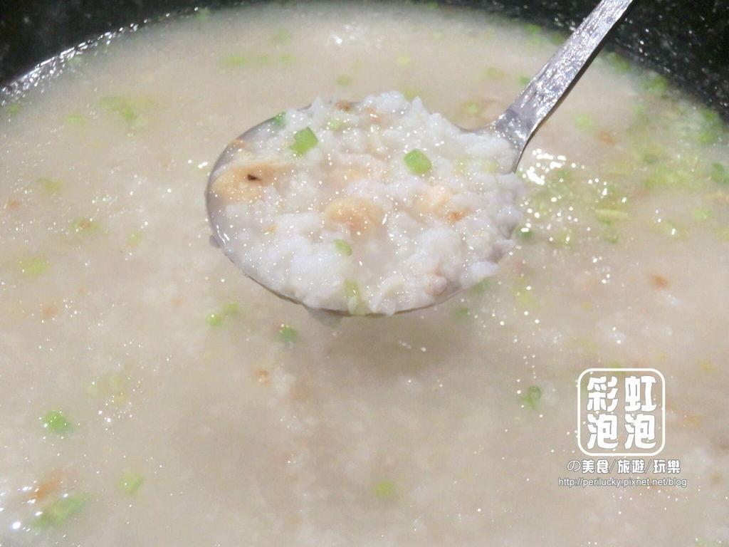 48.鼎陶蒸 蒸汽海鮮鍋物-瑤柱蝦米粥底.jpg