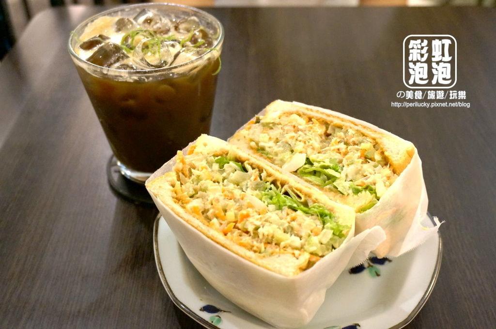 1. Fly%5Cs kitchen-西西里冰咖啡+鮪魚三明治.jpg