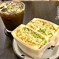 1. Fly's kitchen-西西里冰咖啡+鮪魚三明治.jpg