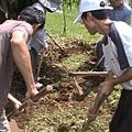 2生態池開挖