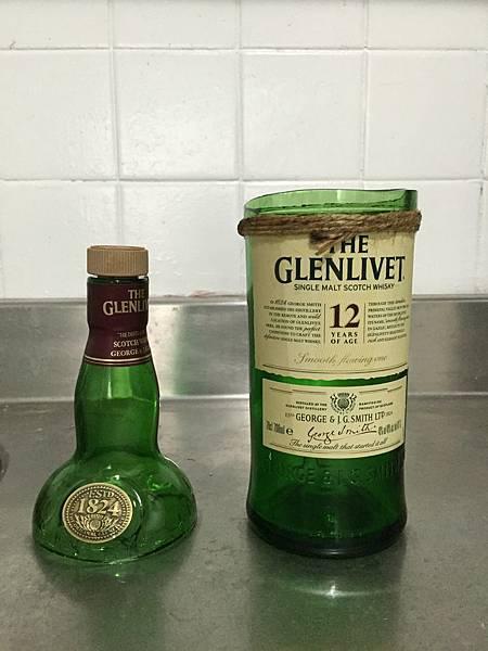 DIY酒瓶杯
