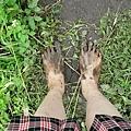 葉老師的泥腳.JPG