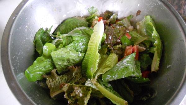 羅曼萵苣沙拉