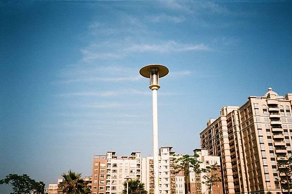 公園內的街燈