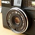 Minolta Hi-Matic AF2 的鏡頭