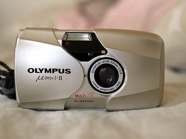 Olympus Mju-II 正面圖