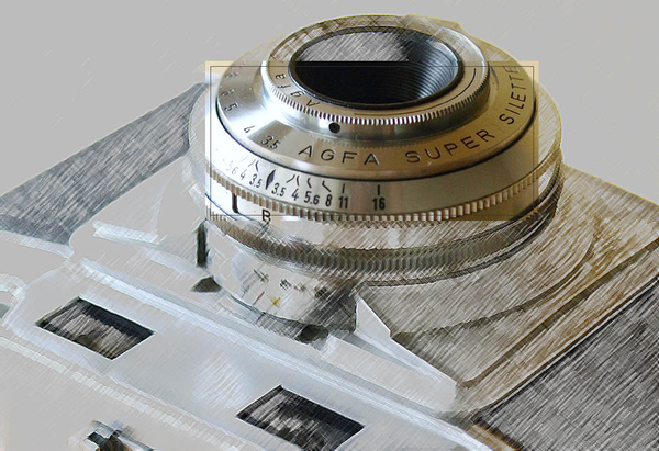 AGFA Supet Silette, introduced in 1955.